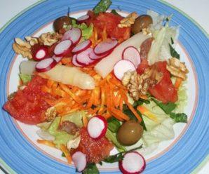 Preparar ricas y sabrosa ensaladas saludables
