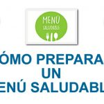 Descubre cómo preparar un menú saludable