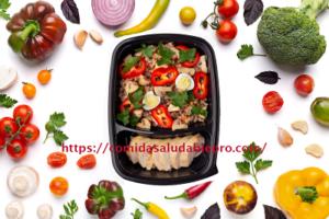 cómo preparar un menú saludable