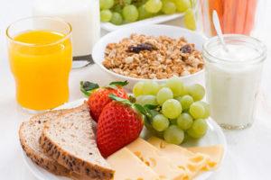 Desayunos y meriendas saludables