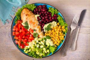 comida de legumbres y frijoles